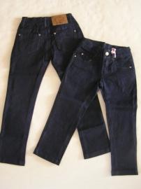 Skinny Jeans van zero blauw glanzend