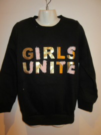 Sweater zwart girl