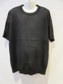 Shirt zwart met goud spikkel