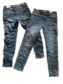 Karostar jeans met rits K6040