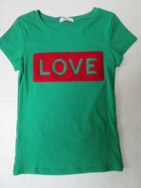 Shirt groen love