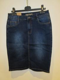 Jeans rok donker