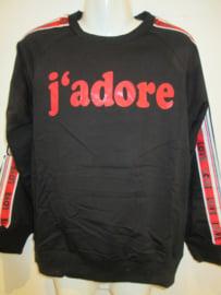 Sweater zwart J'adore