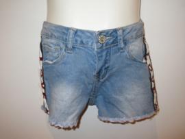 Jeans short  met love bies