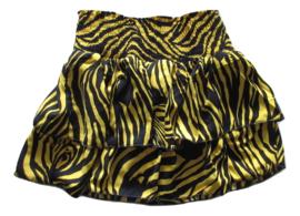 Rokje zebra geel /zwart van Zero