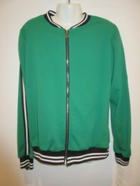 Blouson jasje groen met rits
