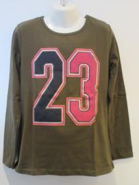 Longsleeve groen 23 van Zero