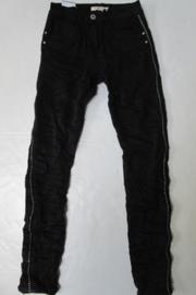 Jewelly Jeans zwart  baggy JW5090 met studjes bies