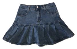 Jeans rok strook