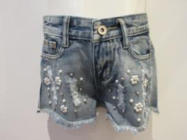 Jeans short parels scheuren