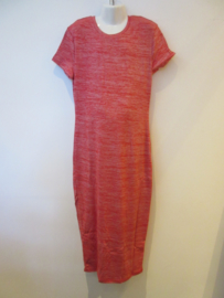 Maxi dress rood gemileerd