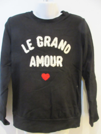 Sweater zwart amour