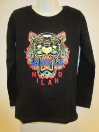 Longsleeve zwart Jungle