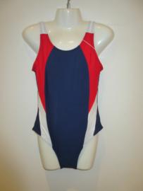 Badpak  blauw/rood AA011