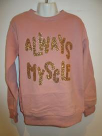 Sweater roze Always