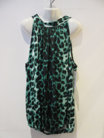 Halter top Panter groen
