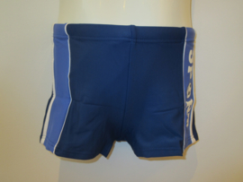 Zwembroek donker blauw sport