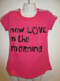 Shirt roze nice