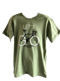 Shirt  groen fiets van Kids Up