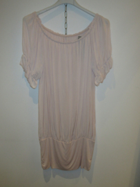 Blouse roze met band