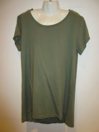 Shirt groen basic