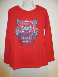 Longsleeve rood Jungle