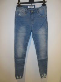 Jeans bleu Queen Hearts