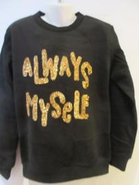 Sweater zwart Always