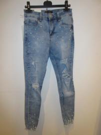 Jeans Miss RJ met parels