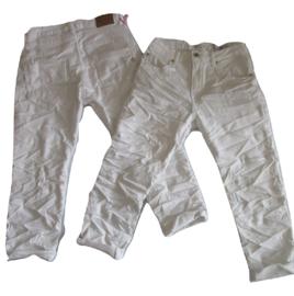 Place du jour capri jeans wit A1233-6