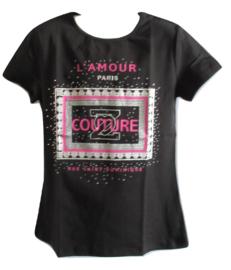 Shirt zwart van Zero couture