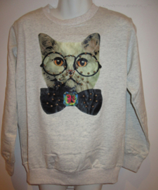 Sweater beige poes