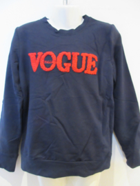 Sweater blauw vogue