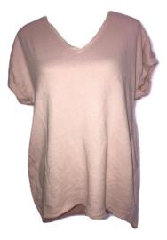 V-Hals shirt roze