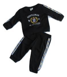 Baby pakje zwart gentleman