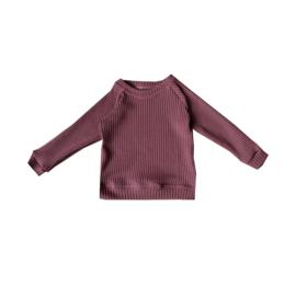 Sweater Knit Marsala