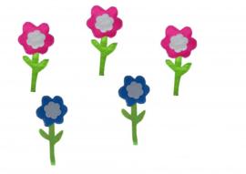 Bloemen 5 stuks