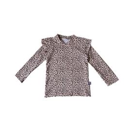 Ruffle Shirt Dots