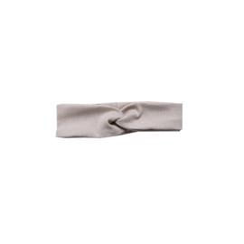 Wrapped headband rib Zand