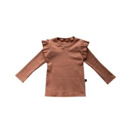 Ruffle Shirt Pecan
