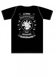 Brandweermannen T-Shirt