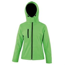 Result Core TX performance hooded softshell Dames