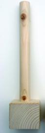 Sokkel hout 7 x 7 x 30 cm
