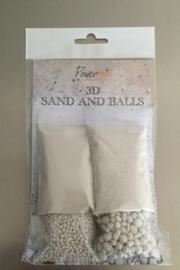 3D Balls & Sand