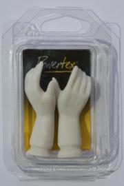 Vrouwen handen 6 cm