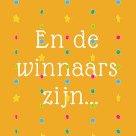 Ben jij de gelukkige winnaar?
