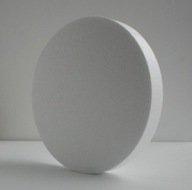 Styropor cirkel 30 cm 4 cm dik