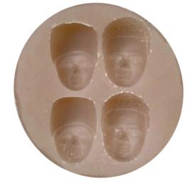 Mould 4 faces