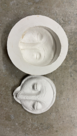 Silicon mould African mask