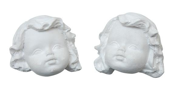 Duo Engelen hoofdjes